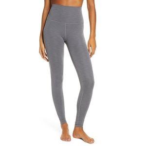 Beyond Yoga Heather Rib High Waisted Legging